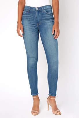 Hudson Barbara High Rise Super Skinny Jean in First Date