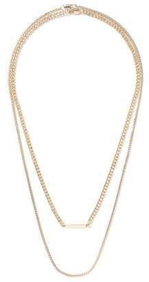 Topman Mens Gold Chain Necklace*