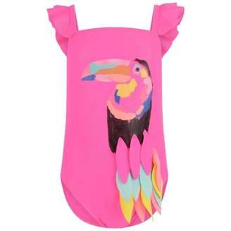 Billieblush BillieblushGirls Pink Toucan Swimsuit