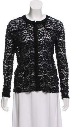Etoile Isabel Marant Bouclé Open Knit Cardigan