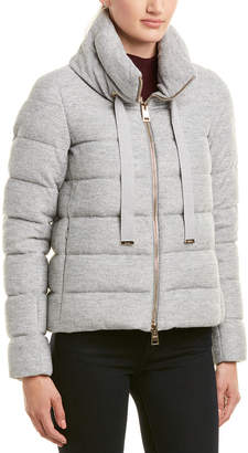 Herno Wool-Blend Down Puffer Jacket