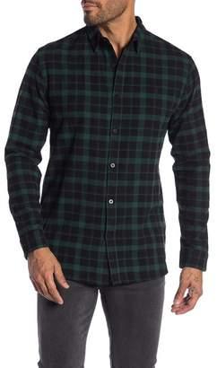 nANA jUDY Plaid Flannel Shirt