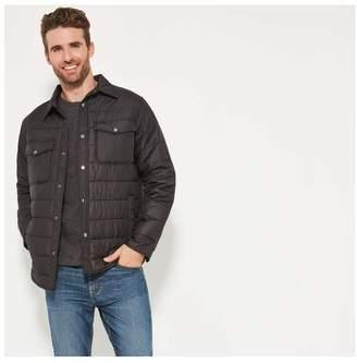 Joe Fresh Men's CPO Jacket, Black (Size XL)