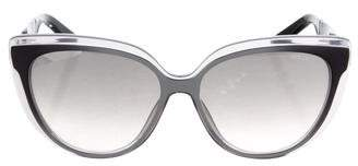 Jimmy Choo Cindy Reflective Sunglasses