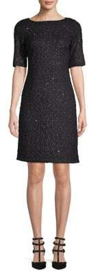 Karl Lagerfeld Paris Embellished Sheath Dress