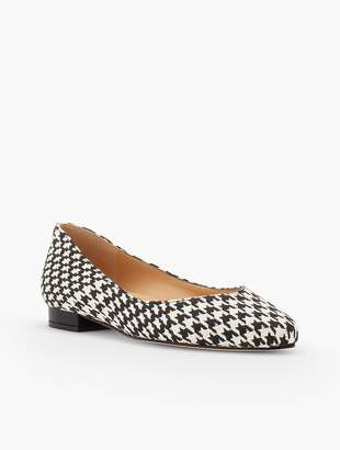 Talbots Edison Flats - Houndstooth