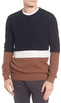 Ben Sherman Textured Colorblock Sweater