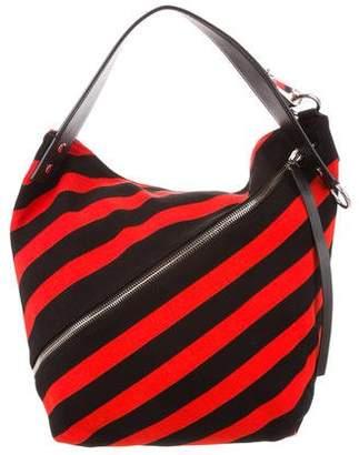 Proenza Schouler Hobo Medium Knit Stripe Bag a9e2a138dfda9