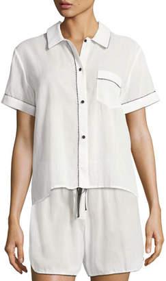 Morgan Lane Tami Short Sleeve PJ Top