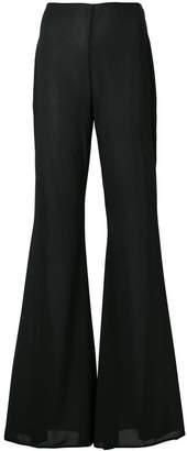 Amen flared cuff trousers