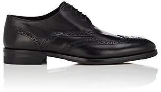 Giorgio Armani MEN'S LEATHER WINGTIP BLUCHERS