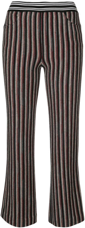 Missoni striped cropped trousers