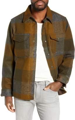 Filson 'Macinaw' Plaid Wool Flannel Shirt Jacket