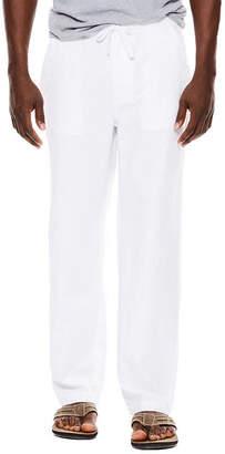 Island Shores Linen-Cotton Drawstring Pants