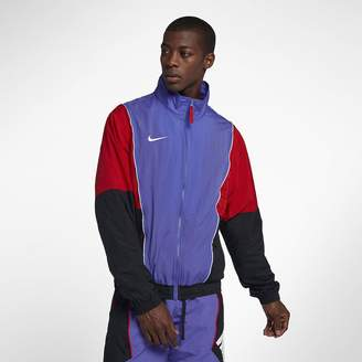 Nike Men's Tracksuit Basketball Jacket Throwback