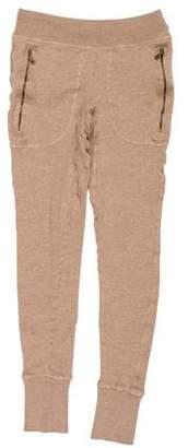 Tomas Maier Mid-Rise Wool Leggings