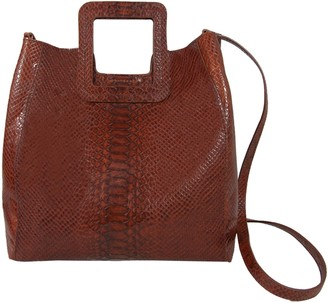 Tmrw Studio TMRW Studio Python-Print Square-Handle Handbag- Antonio Med