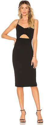 1 STATE Spaghetti Strap Bodycon Dress
