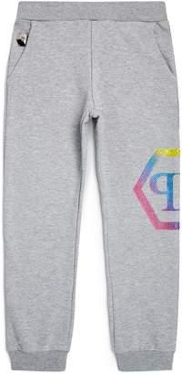 Philipp Plein Rainbow Logo Sweatpants