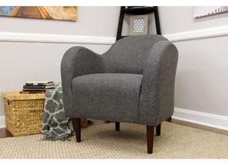 Newport Julian Mid Century Arm Chair - Gray