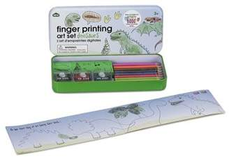 S.t.a.m.p.s. NPW Npw Finger Painting Dinosaurs Art Set (Ink Pads, Pencils & Rubber Gift Set)