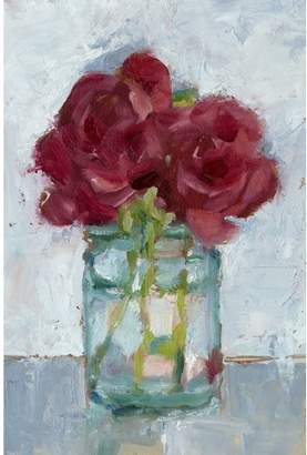 STUDY Impressionist Floral IV Canvas Wall Art