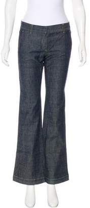 Theory Low-Rise Wide-Leg Jeans