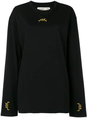 A-Cold-Wall* long-sleeved logo T-shirt