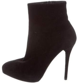 Ralph Lauren Collection Platform Ankle Boots