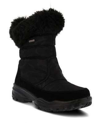 Spring Step Korine Waterproof Faux Fur Bootie