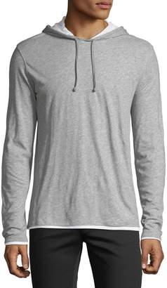 Vince Men's Double Layer Hoodie