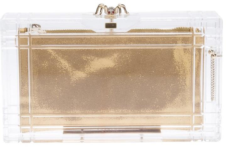 Charlotte Olympia 'Pandora' box clutch