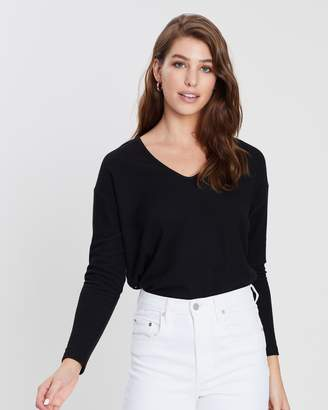 Dorothy Perkins Lace Back Cut and Sew Top