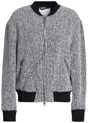 3.1 Phillip Lim Boucle-tweed Bomber Jacket