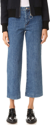 A.P.C. Sailor Jeans $235 thestylecure.com