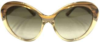 Emilio Pucci Camel Plastic Sunglasses