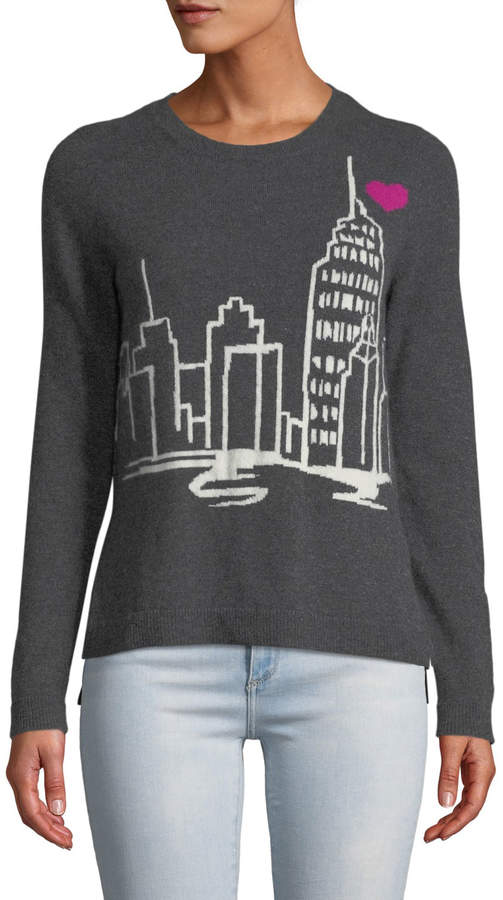 Neiman Marcus Cashmere New York Sweater