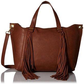 Steve Madden Blucyy Fringe Tote Bag $39.99 thestylecure.com