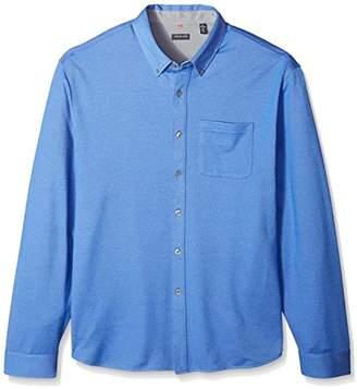Van Heusen Men's Big and Tall Traveler Knit Button Down Long Sleeve Shirt