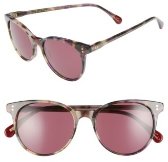 Women's Raen Norie 52Mm Gradient Lens Cat Eye Sunglasses - Wren $135 thestylecure.com