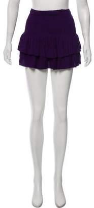 Piamita Ruffled Mini Skirt