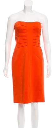 Versace Strapless Bodycon Dress w/ Tags