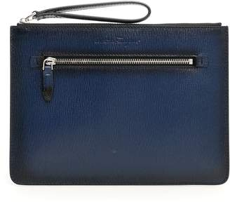 Salvatore Ferragamo Revival Leather Clutch
