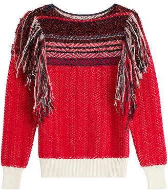 Marc Jacobs Knit Pullover with Tassels