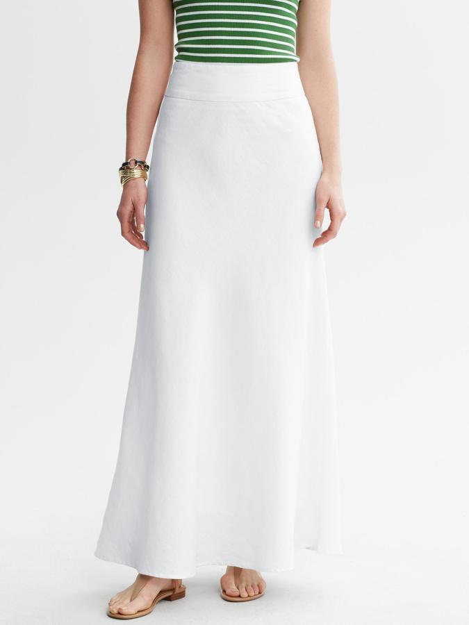 Banana Republic Linen Patio Skirt