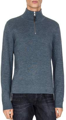 The Kooples Milano Half-Zip Sweater