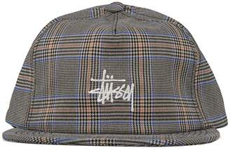 Stussy GLEN PLAID CAP