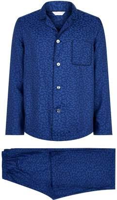 Derek Rose Petal Print Pyjama Set