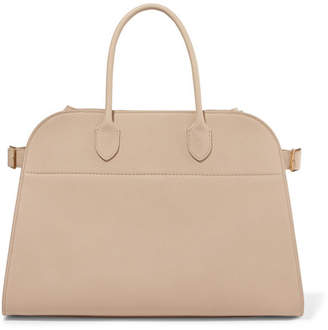 The Row Margaux Textured-leather Tote - Beige
