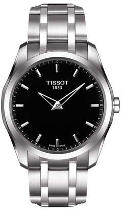 Tissot Men's Couturier Quartz Bracelet Watch, 39mm